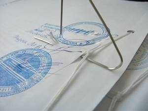 Как подшить устав для регистрации ооо при регистрации ип нужно ли подавать на енвд